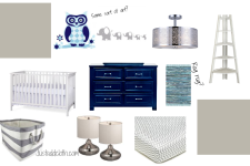 Baby Boy Room Before & Aspirations