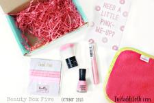 Beauty Box Five October 2015