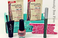 Beauty Box Five September 2014