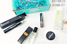 Beauty Box Five September 2015