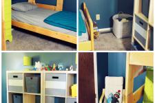 Boy Bedroom Before & After
