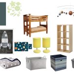 A Little Boy Bedroom Makeover - Space Inspiration