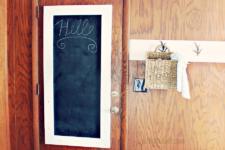 DIY Large Rustic Chalkboard