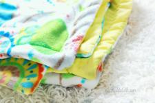 Make A Turn & Top Stitch Blanket