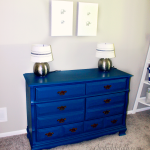 Baby Room Update: Dresser Makeover & Elephant Art