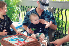 A Small First Birthday Bash