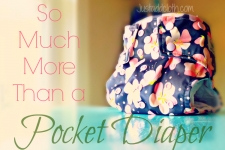 The Ever Evolving Pocket Diaper