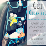 Kids On The Go: Hello Little Monsters Backseat Car Organizer
