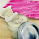 Homemade Lavender Coconut Sugar Scrub