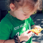 A Busy Mom, Happy Toddlers, & A Hormel Pizza Ready Lunch Party
