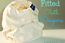 Reliable Diapering with Fitted Cloth Diapers