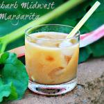 Rhubarb Midwest Margaritas