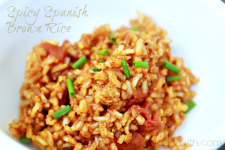Spicy Spanish Brown Rice