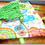 Making A Simple Taggie Blanket