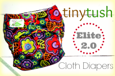 We Love Tiny Tush Elite 2.0 Cloth Diapers