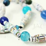 Recycled Book Bead Jewelry {Plus A Giveaway!}