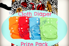 Cloth For the Win: Four Diapers & A Wet Bag
